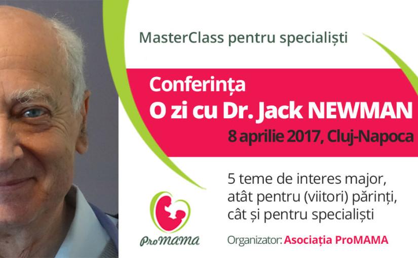 Conferinta – O zi cu Dr. Jack NEWMAN