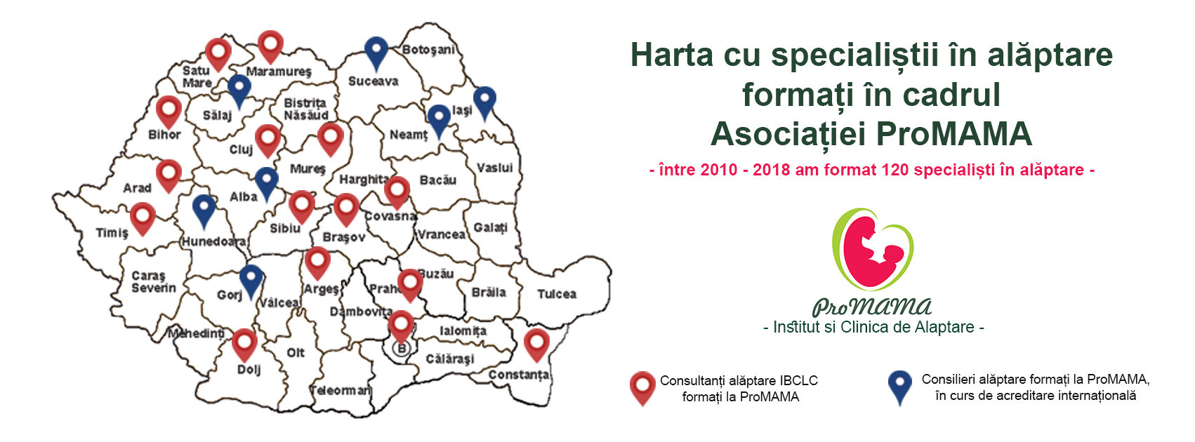 Harta alaptarii ProMAMA