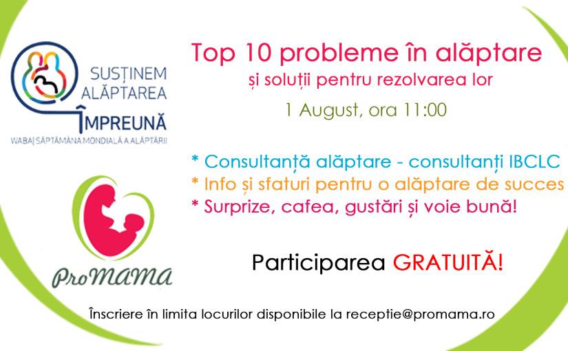 Eveniment GRATUIT: Top 10 probleme in alaptare si solutii pentru rezolvarea lor