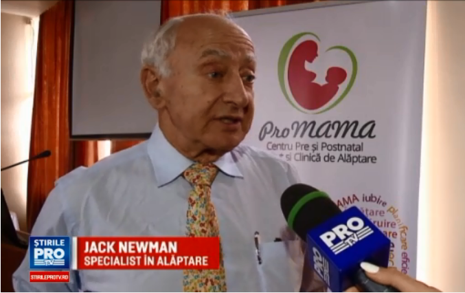Dr. Jack NEWMAN – cel mai recunoscut expert in alaptare din lume